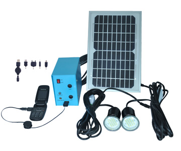 LED Solar Lighting System